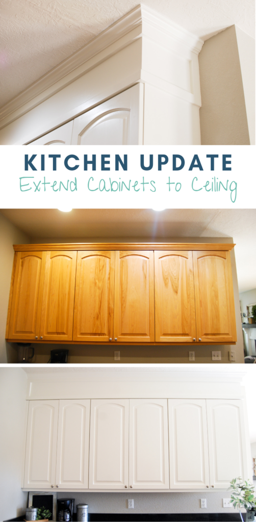 Kitchen Update Extend Cabinets To Ceiling Emily S