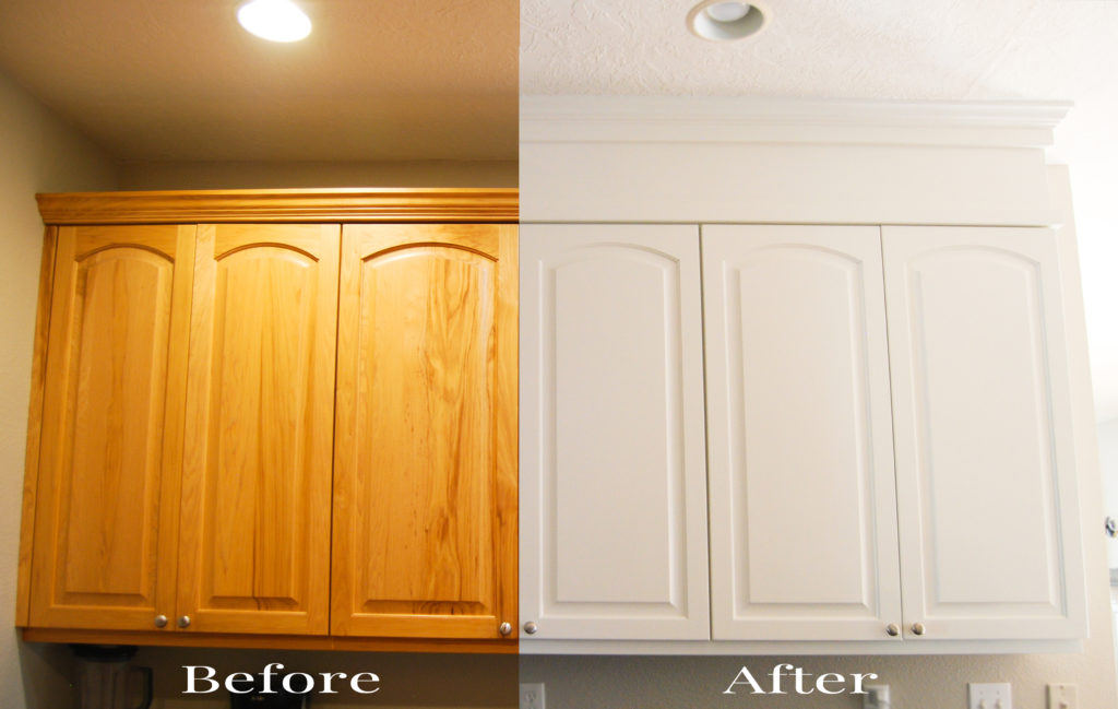 Kitchen Update: Extend Cabinets to Ceiling - Emily's ...