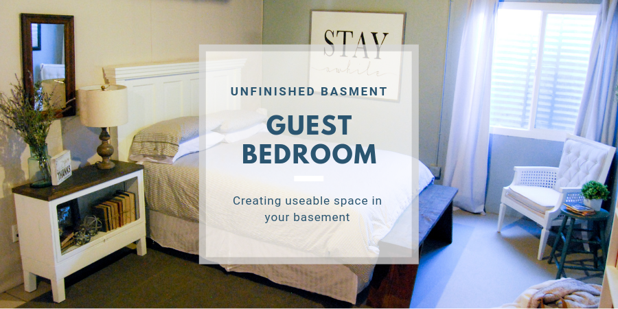 Unfinished Basement Guest Bedroom Emily S Project List